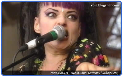 Nina Hagen live at Rockpalast 1999, Bonn Germany