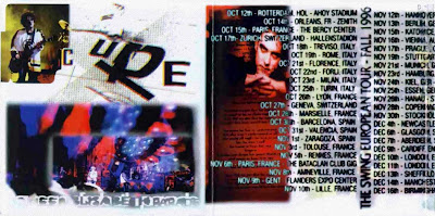 The Cure. Queen Elisabeth Parade booklet 1