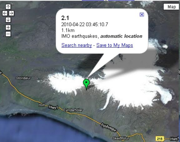 iceland volcano map. Iceland volcano situation,