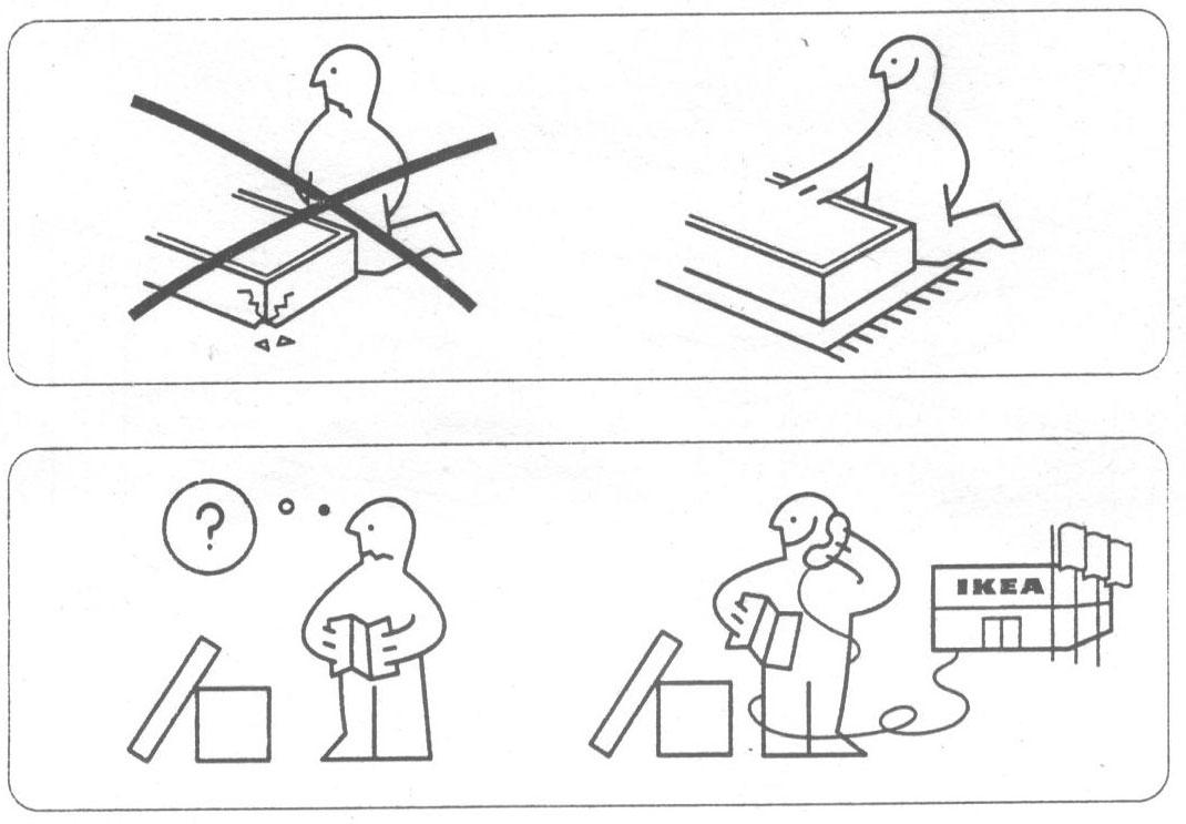Ikea Hochstuhl Antilop Bis Wieviel Kg ~ La Bella Vida I think Ikea is mocking us
