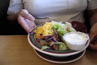 JandDs Salad served with the BLT