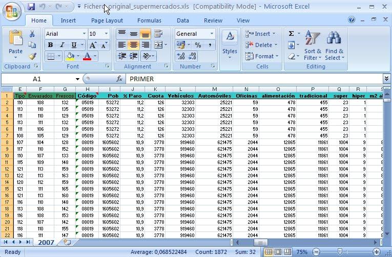 informe hoja electronica: