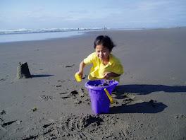 My sister Dani