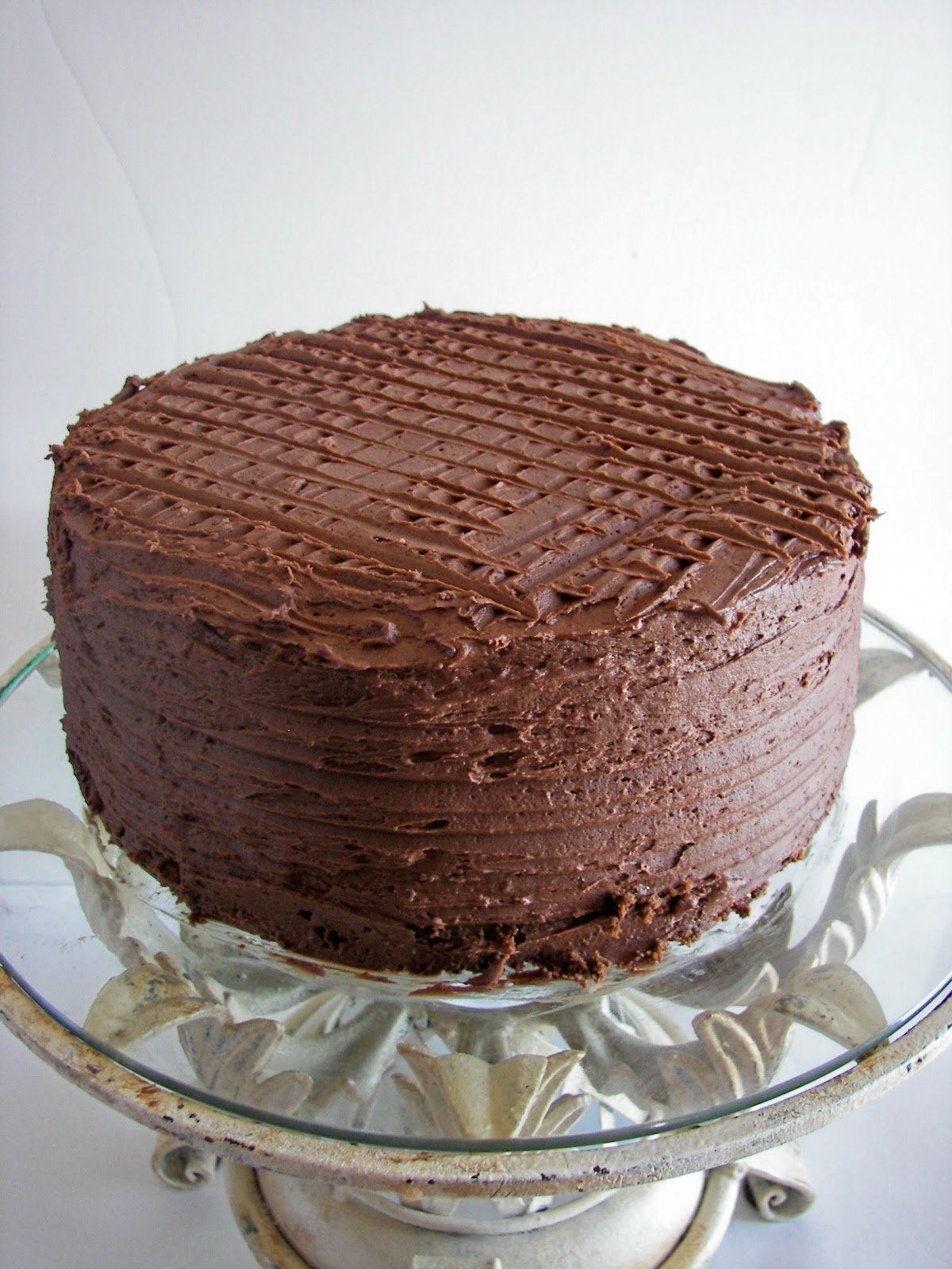 Red Couch Recipes: Nedra's Whole Wheat Chocolate Cake