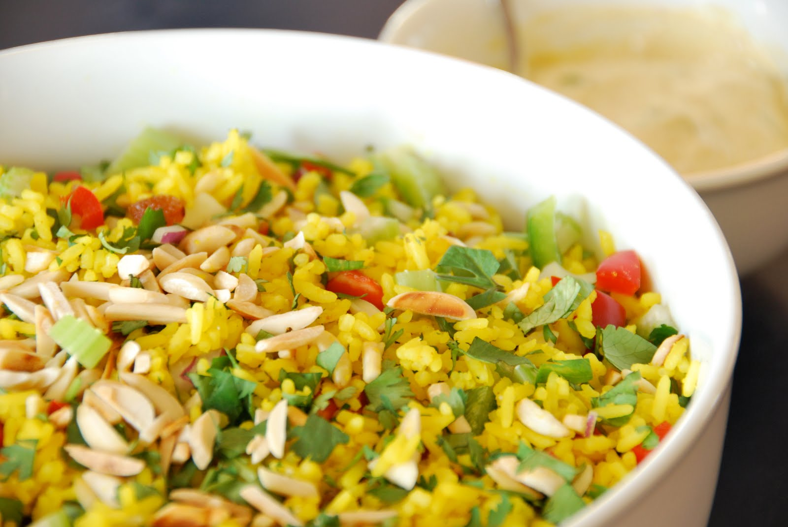 Peet Can Cook: Curried Rice Salad with Spiced Yoghurt