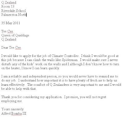 Application letter for pc technician