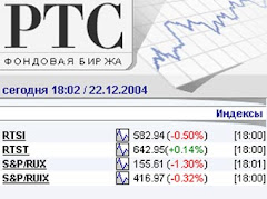 RTS - Russia Trading System stock exchange - Moscow, Russia