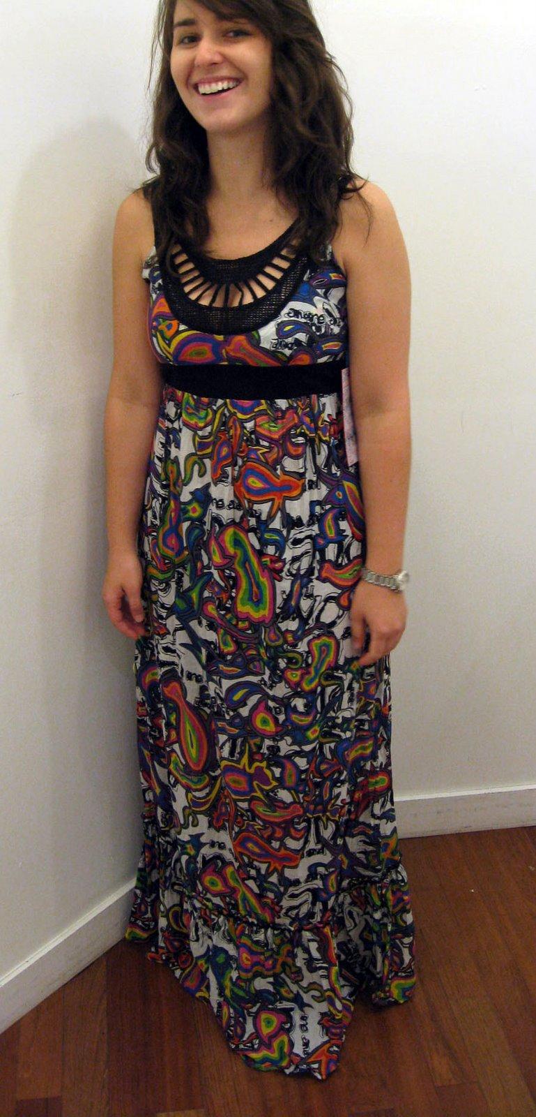 Maxi dress express 34th