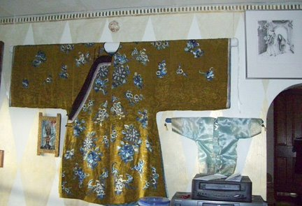 Chinese Robe and Diamond Wall