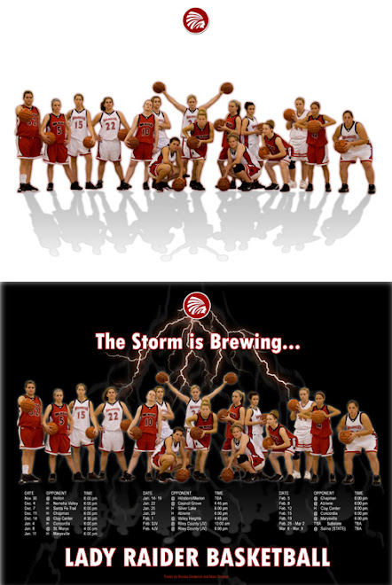 Computer Graphics Lady Raider Basketball Example