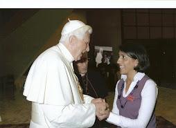 ¡¡¡Que bueno!!! Una joven de nuestra diócesis