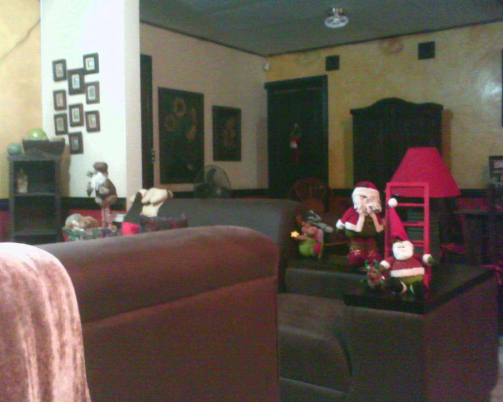 Decorando la casa par navidad girasoles - Decorar mi casa en navidad ...