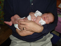 Grace in the arms of daddy