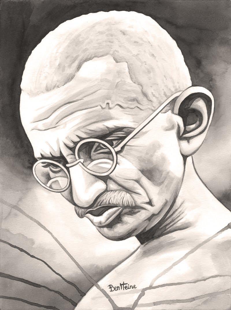 [-+Mohandas+Karamchand+Gandhi+-+(Ben+Heine).jpg]