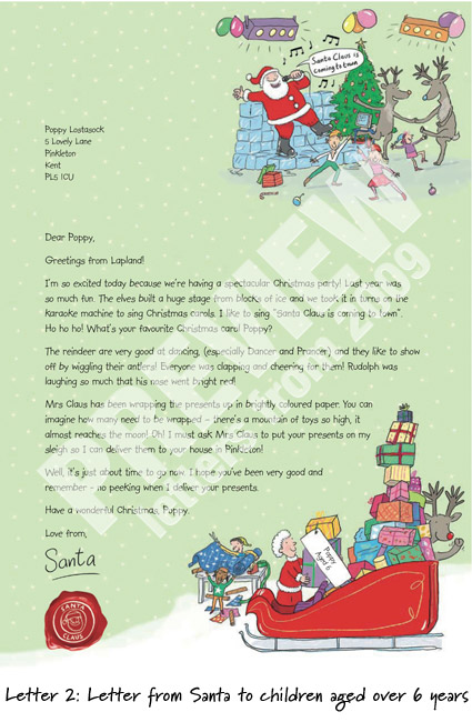 Nspcc prepare magical letters from santa campaign this mummy letters can be ordered through the nspcc wishes website where you can find christmas ecards corporate ecards and letters from santa spiritdancerdesigns Image collections