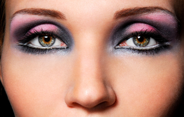 Edgy Eye Makeup Ideas 1. smoky eye makeup tips · brown eyes makeup · blue