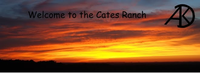 Happenings at the Cates Ranch