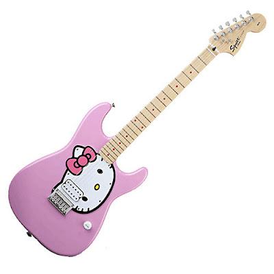 Hello Kitty Guitar. Hello Kitty#39;s album