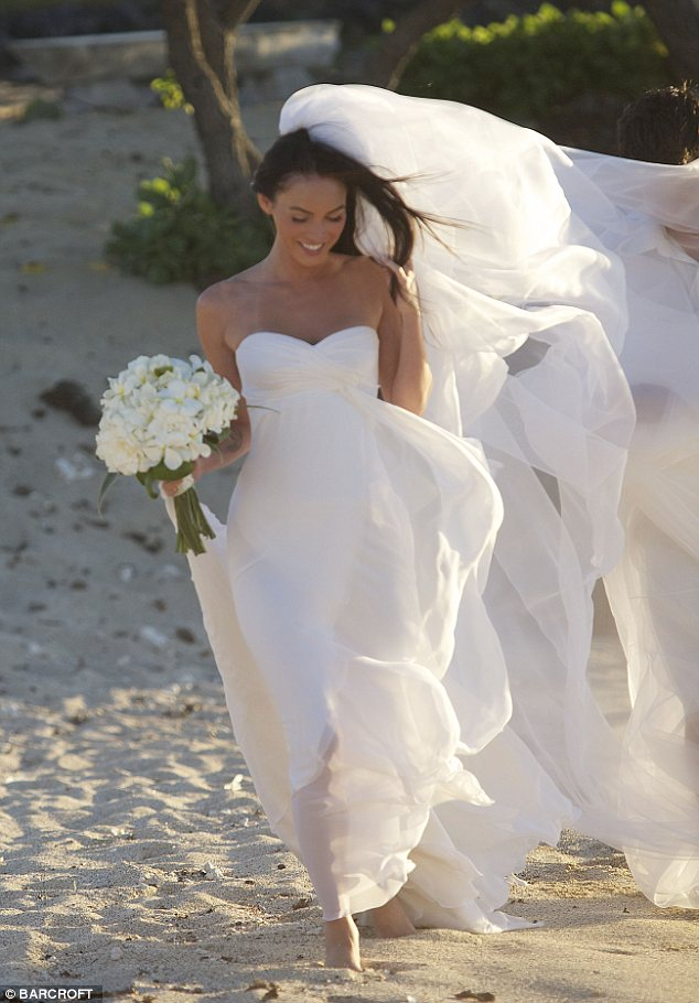 Megan Fox's wedding dress - China Doll