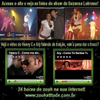 Suzanna Lubrano no Brasil - ZoukAtitude 24 horas na internet