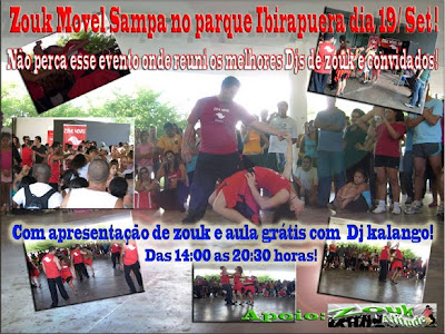 Zouk Movel Sampa no parque Ibirapuera