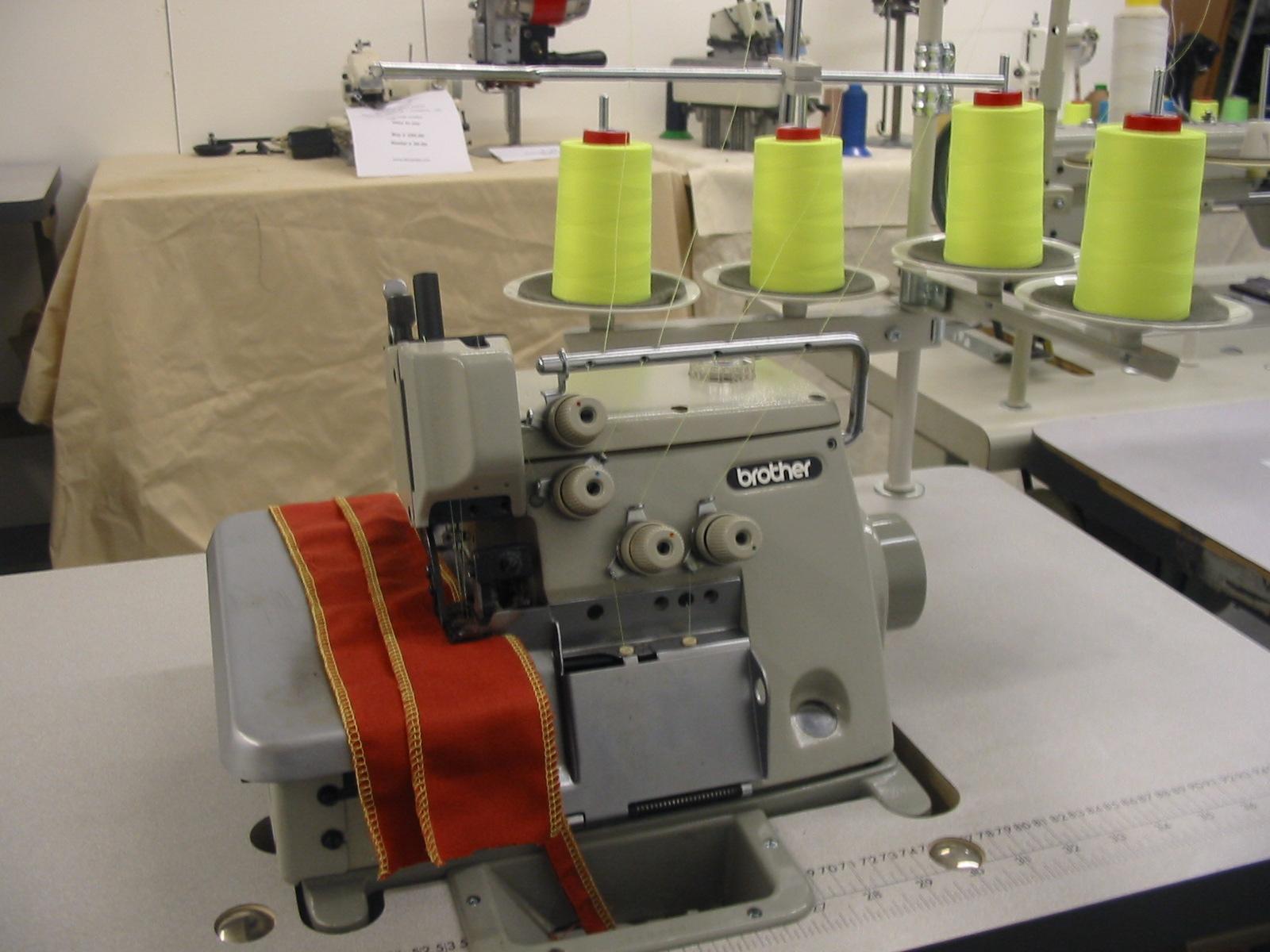 industrial serger machine