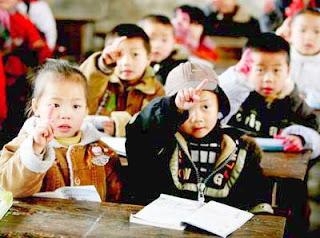 Provérbio Chinês e Crianças na Escola
