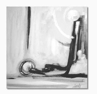 pintura sobre tela - sexo abstrato