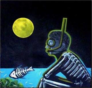 pintura burity - final de semana em Praia do Forte