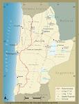 Mapa despues del conflicto