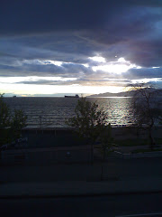 Sunset at English Bay, Vancouver, BC