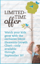 Growth Chart offer