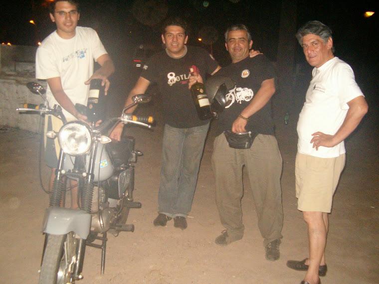 FABIO,ABEL,YO Y HORACIO en Santiago capital