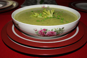 GREEN PEaS SOUP OHH.. LALA!