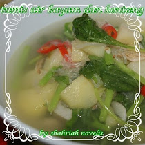 SAYUR TUMIS AIR BAYAM DAN KENTANG