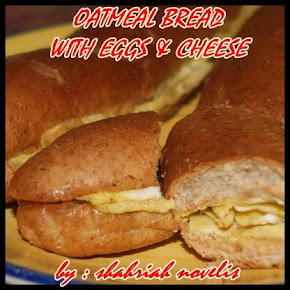OAT MEAL BREAD WITH EGGS & CHEESE