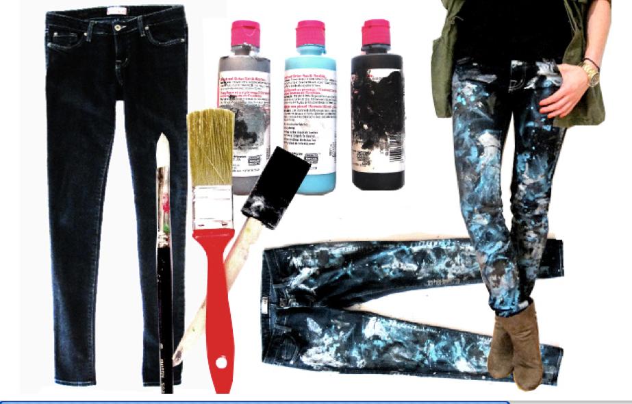 Покрасить штаны в черный цвет в домашних условиях