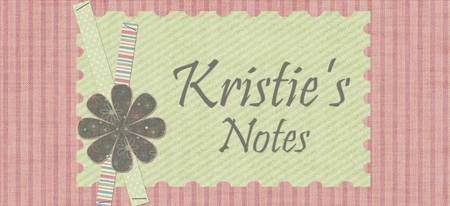 Kristie's Notes