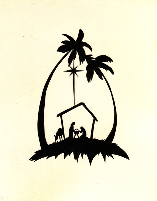 Nativity Silhouette Template To do another template,