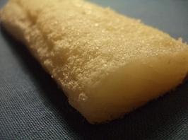 A lovely piece of bacallà, or Catalan salt cod