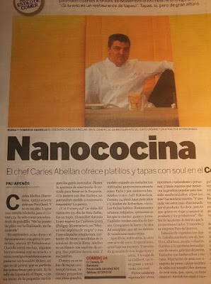 Feature article in El Periódico