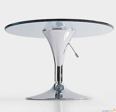 arredaclick italian design furniture blog italian design glass round tables the outer space. Black Bedroom Furniture Sets. Home Design Ideas