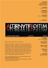 E-ALTERNATİF EĞİTİM DERGİSİ - E-JOURNAL OF ALTERNATIVE EDUCATION YAYIMLANDI !..