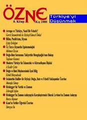 ÖZNE Felsefe Dergisi