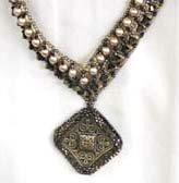 Woven Victorian Elegance Swarovski Crystals