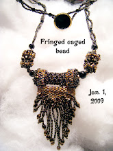Fringed Caged Beads