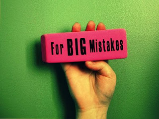 Erasers for Big Mistakes!