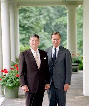 President Ronald Reagan and Vice President George H.W. Bush