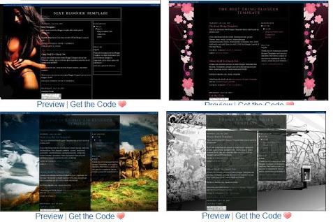 tukar template blog anda