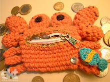 Porta moedas Crab - Carangueijo